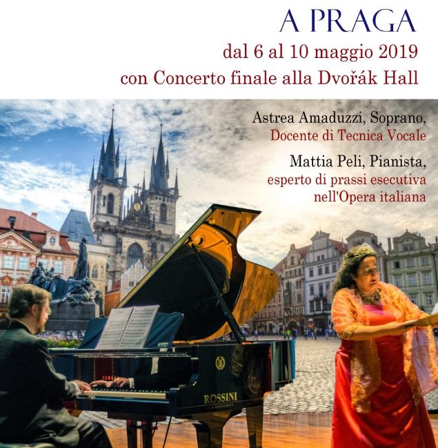 L'eccellenza del Belcanto Italiano in una masterclass a Praga dal 6 al 10 maggio 2019